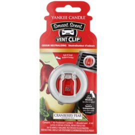 Yankee Candle Cranberry Pear vůně do auta 4 ml clip