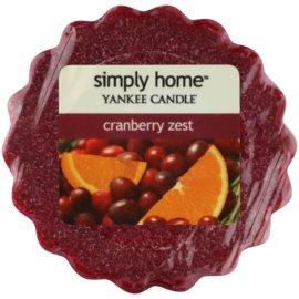 Yankee Candle Cranberry Zest Wachs für Aromalampen 22 g