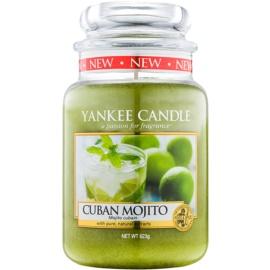 Yankee Candle Cuban Mojito vela perfumado 623 g Classic grande