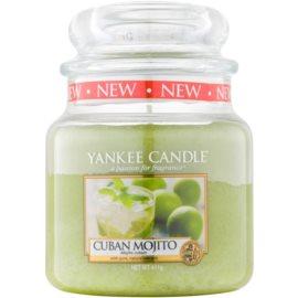Yankee Candle Cuban Mojito vonná sviečka 411 g Classic stredná