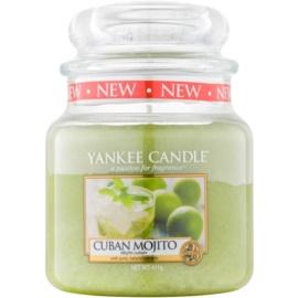 Yankee Candle Cuban Mojito illatos gyertya  411 g Classic közepes méret