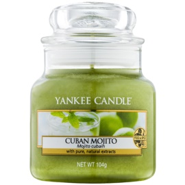 Yankee Candle Cuban Mojito illatos gyertya  104 g Classic kis méret