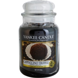 Yankee Candle Cappuccino Truffle illatos gyertya  623 g Classic nagy méret