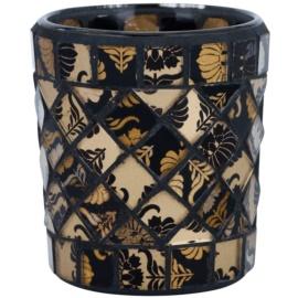 Yankee Candle Damask Mosaic szklany świecznik na sampler