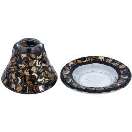 Yankee Candle Damask Mosaic sada stínítka a talíře   na vonnou svíčku Classic malý