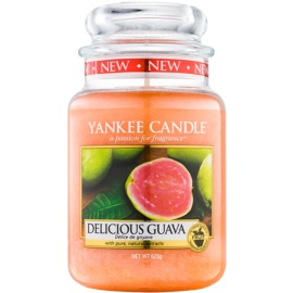 Yankee Candle Delicious Guava illatos gyertya  623 g Classic nagy méret