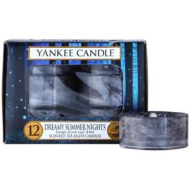 Yankee Candle Dreamy Summer Nights čajová svíčka 12 x 9,8 g
