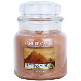 Yankee Candle Egyptian Musk illatos gyertya  411 g Classic közepes méret