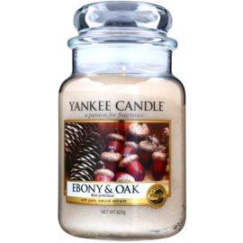 Yankee Candle Ebony & Oak Scented Candle 623 g Classic Large