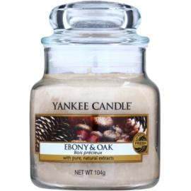 Yankee Candle Ebony & Oak Scented Candle 104 g Classic Mini
