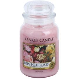 Yankee Candle Fresh Cut Roses illatos gyertya  623 g Classic nagy méret
