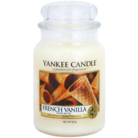 Yankee Candle French Vanilla vonná svíčka 623 g Classic velká