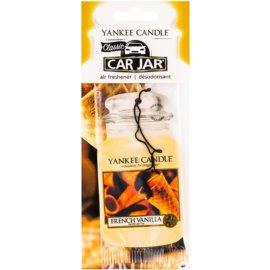Yankee Candle French Vanilla lógó autóillatosító