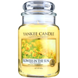 Yankee Candle Flowers in the Sun Duftkerze  623 g Classic groß