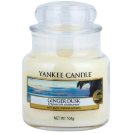 Yankee Candle Ginger Dusk ароматизована свічка  104 гр Classic  маленька