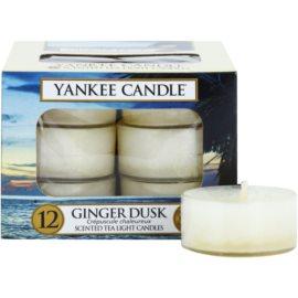 Yankee Candle Ginger Dusk Teelicht 12 x 9,8 g