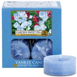 Yankee Candle Garden Sweet Pea Teelicht 12 x 9,8 g