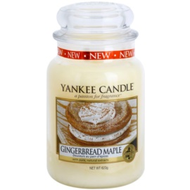 Yankee Candle Gingerbread Maple ароматна свещ  623 гр. Classic голяма