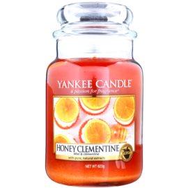 Yankee Candle Honey Clementine vonná svíčka 623 g Classic velká