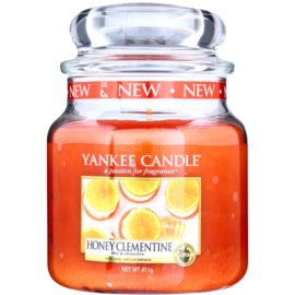 Yankee Candle Honey Clementine vonná svíčka 411 g Classic střední