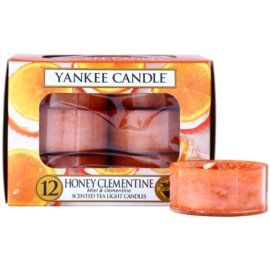 Yankee Candle Honey Clementine Teelicht 12 x 9,8 g