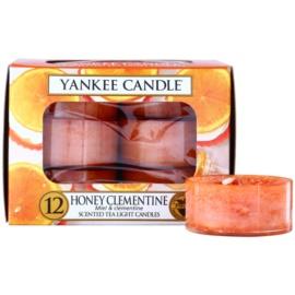 Yankee Candle Honey Clementine čajová svíčka 12 x 9,8 g