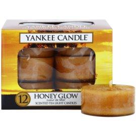 Yankee Candle Honey Glow čajová svíčka 12 x 9,8 g