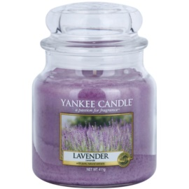 Yankee Candle Lavender Duftkerze  411 g Classic medium