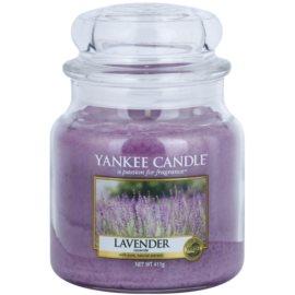 Yankee Candle Lavender vela perfumada  411 g Classic mediana