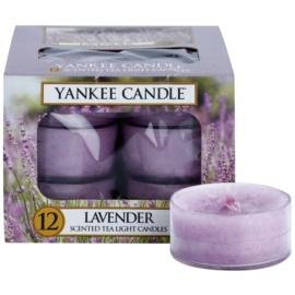 Yankee Candle Lavender čajová svíčka 12 x 9,8 g