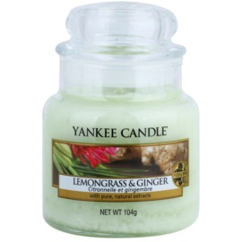 Yankee Candle Lemongrass & Ginger Duftkerze  104 g Classic mini
