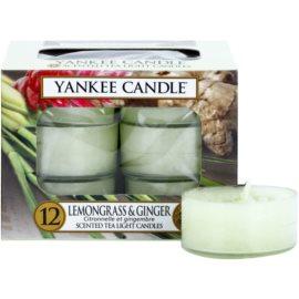 Yankee Candle Lemongrass & Ginger Teelicht 12 x 9,8 g