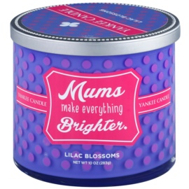 Yankee Candle Lilac Blossoms vonná svíčka 283 g  (Mums Make Everything Brighter)