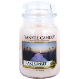 Yankee Candle Lake Sunset świeczka zapachowa  623 g Classic duża