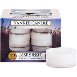 Yankee Candle Lake Sunset čajová svíčka 12 x 9,8 g