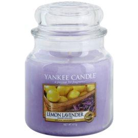 Yankee Candle Lemon Lavender vonná sviečka 411 g Classic stredná