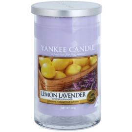 Yankee Candle Lemon Lavender Duftkerze  340 g Décor mittel