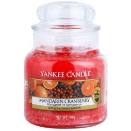 Yankee Candle Mandarin Cranberry candela profumata 104 g Classic piccola