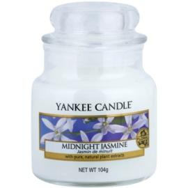 Yankee Candle Midnight Jasmine świeczka zapachowa  104 g Classic mała