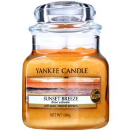 Yankee Candle Sunset Breeze vonná svíčka 105 g Classic malá