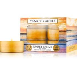 Yankee Candle Sunset Breeze vela do chá 12 x 9,8 g