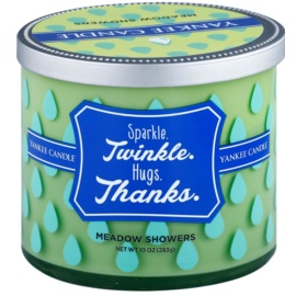 Yankee Candle Meadow Showers illatos gyertya  283 g  (Sparkle. Twinkle. Hugs. Thanks.)