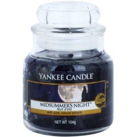 Yankee Candle Midsummer´s Night świeczka zapachowa  104 g Classic mała