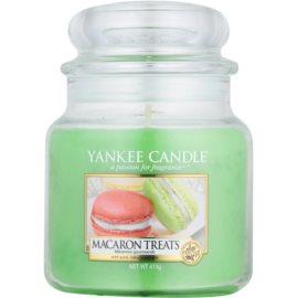 Yankee Candle Macaron Treats illatos gyertya  411 g Classic közepes méret
