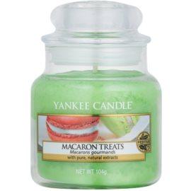 Yankee Candle Macaron Treats illatos gyertya  104 g Classic kis méret