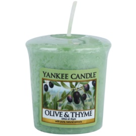 Yankee Candle Olive & Thyme lumânare votiv 49 g