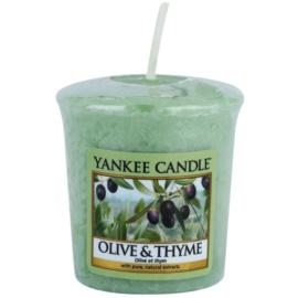 Yankee Candle Olive & Thyme Votivkerze 49 g