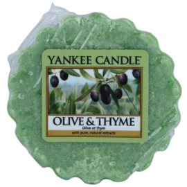 Yankee Candle Olive & Thyme cera per lampada aromatica 22 g