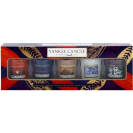 Yankee Candle Out of Africa darilni set II. votivna sveča 5 x 49 g