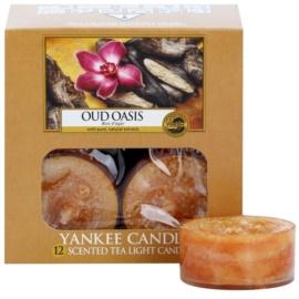 Yankee Candle Oud Oasis vela do chá 12 x 9,8 g